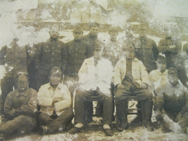 Original WW2 Japanese POW Officers Photos