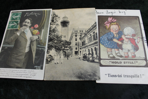 3 - WW1 Soldier's Postcards Home