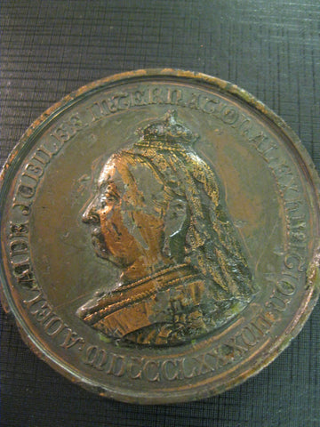 1886/7 -  Adelaide Jubilee International Exhibition Medal