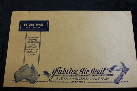1935 -Jubilee Air Mail Cover