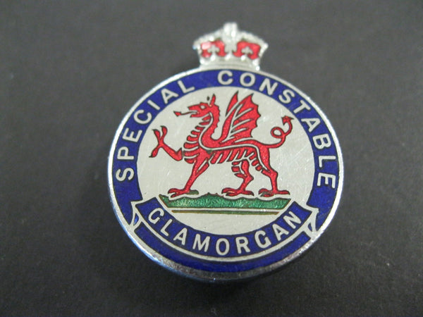 GB - Glamorgan Special Constable Badge.