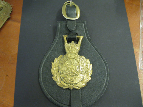 GB - Newcastle on Tyne  Police Horse Brass.