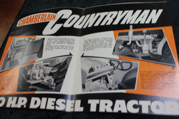Chamberlain Countryman Tractor Pamphlet