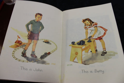 John and Betty School Reader