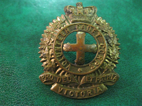 QV - Victorian Volunteer Cadet Corps Badge