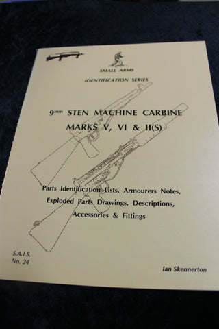 Skennerton - 9mm Sten Machine Carbine Book