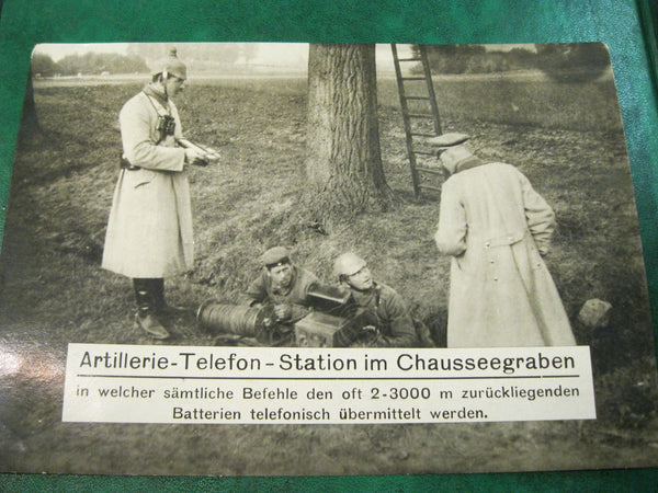 WW1 German Photo Card