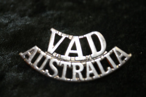 WW2 - VAD Shoulder Title