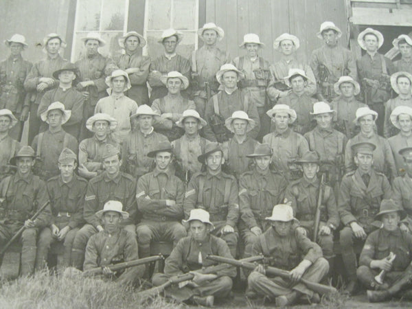 "Pre WW1 Photo of ""Shirkers at Fort Queenscliff Barraks 1913."