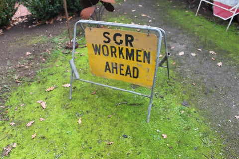 South Gippsland Railway Workmen's Sign