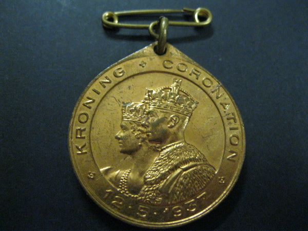 South Africa - 1937 Coronation Medal.