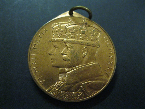 1935 - South Africa KGV Silver Jubilee Medal.
