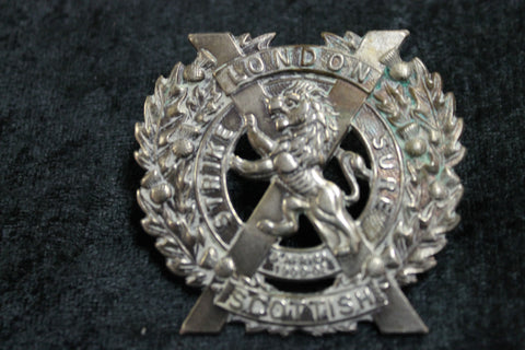 London Scottish Regiment Cap Badge