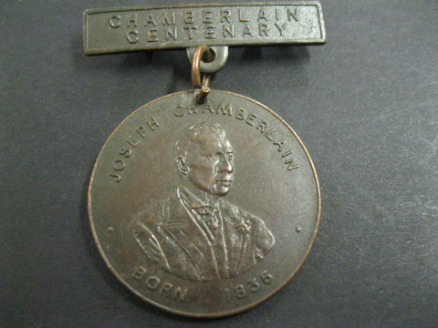GB - 1936 Chamberlain 100th Medal