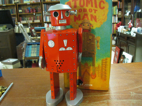 Clockwork Atomic Robot Man .