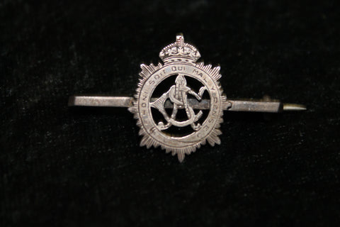 WW1 - Army Service Corps Silver Brooch