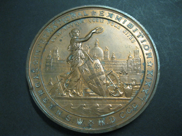 1879 Sydney International Exhibition Prize Medal Rustys