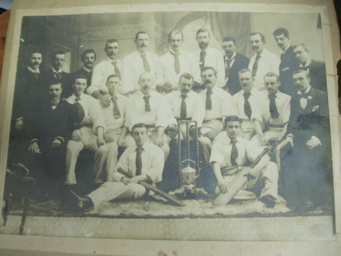 1902-1903 Large Geelong Cricketing Photos