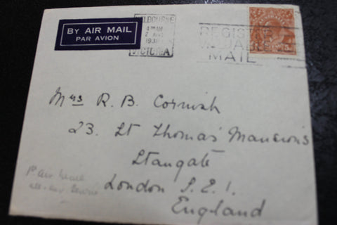 1938 - 1st All Air Mail Service to England Cover