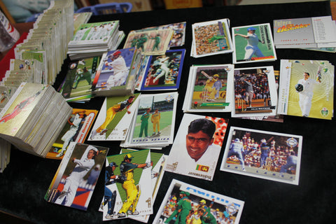 1990's - Early 2000's Cricket Card Lot