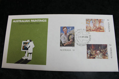 1974 -Paintings FDC