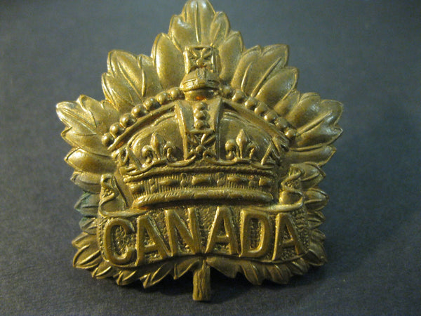 Canadian General Service Hat Badge.