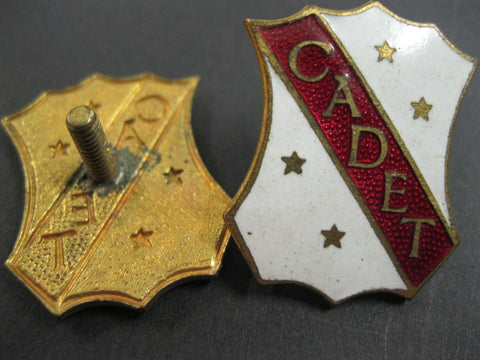 Enamel Cadets Badge