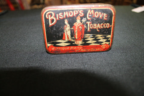 Bishop's Move Tobacco Tin