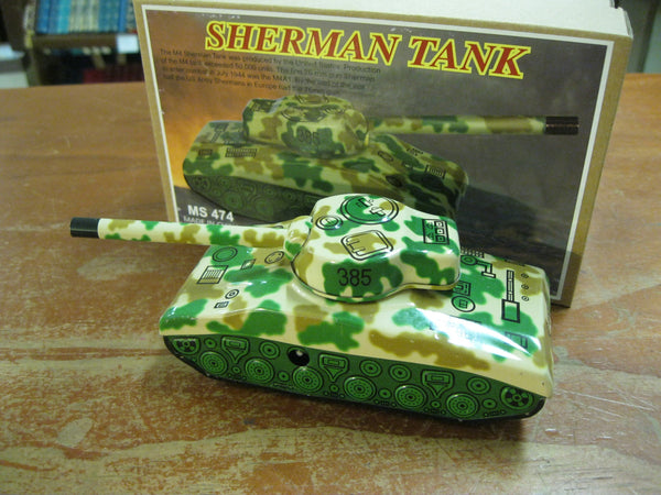 Clockwork Sherman Tank .