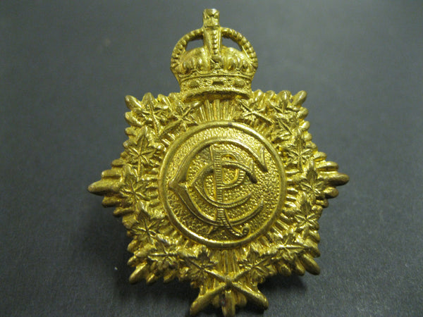 Canadian CEF Postal Corps Collar Badge