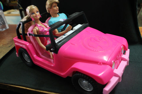Mattel Ken and Barbie Jeep