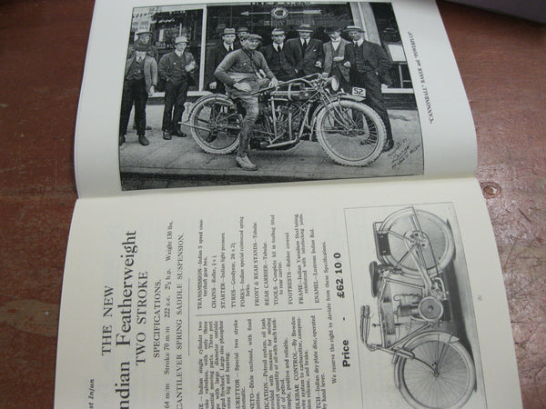 "1916 - Edition of ""Honest Injun"" Indian Motorcycle Catalogue"