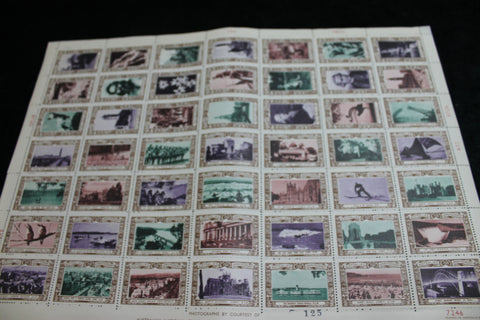 1938 - 150th of Australia Stamp Sheet