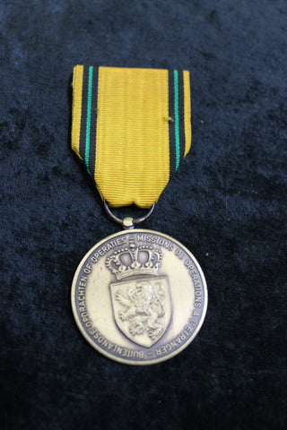 Belgium Foreign Missions Medal