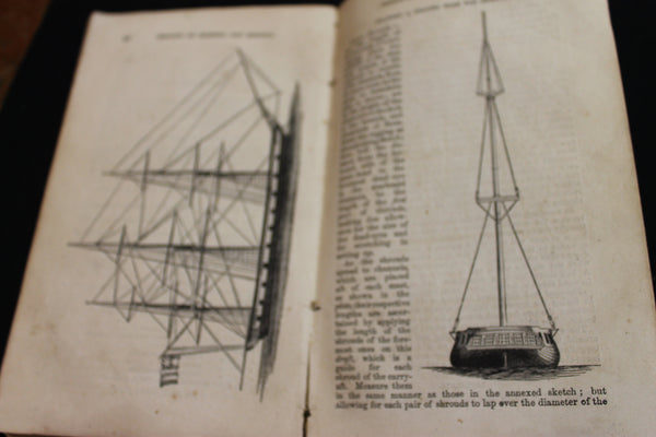 1856 - Mastering , Mast-Making and Rigging of Ships