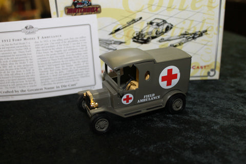 Matchbox - 1912 Model T Ford Ambulance