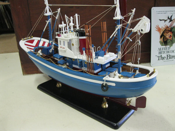 Large Wooden Fishing Boat