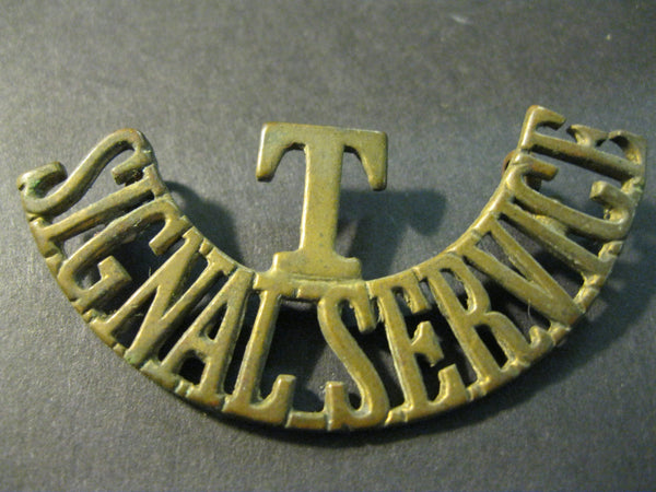WW1 - Version 1  , Territorial Signal Service Badge