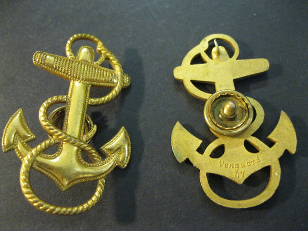 US Naval Officers Badge.