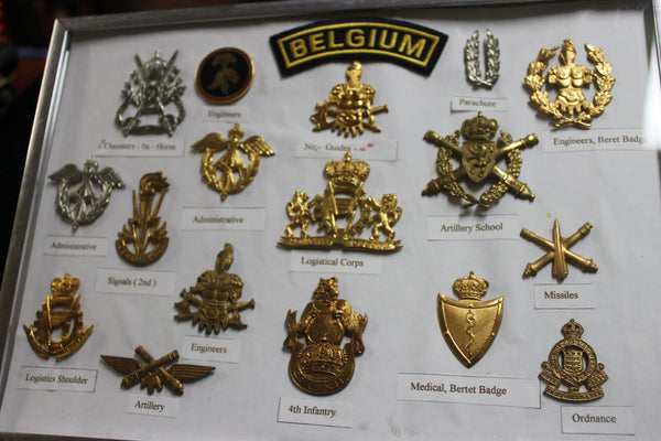 Belgium Military Badge Collection .