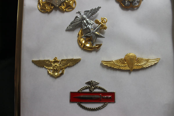 South Korea Military Badge Collection