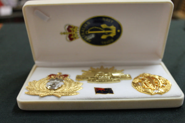 Australian Services Badge Set
