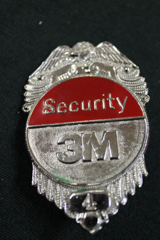 3M Security Cap Badge