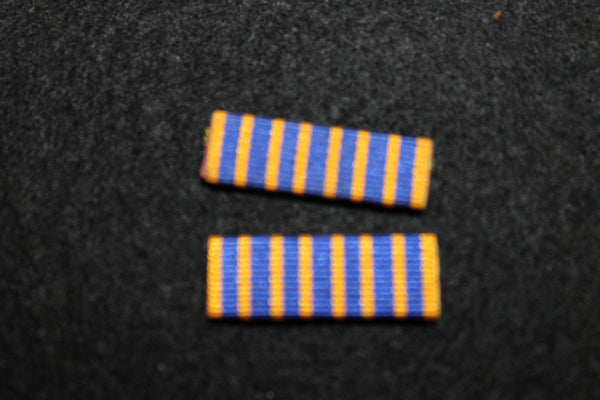 Pair of National Service Ribbon Bars