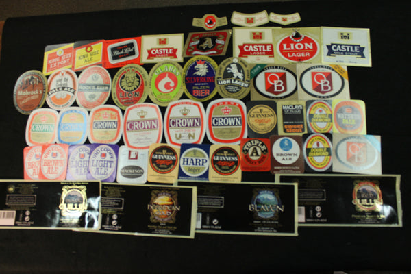 1980's - Beer Label Lot