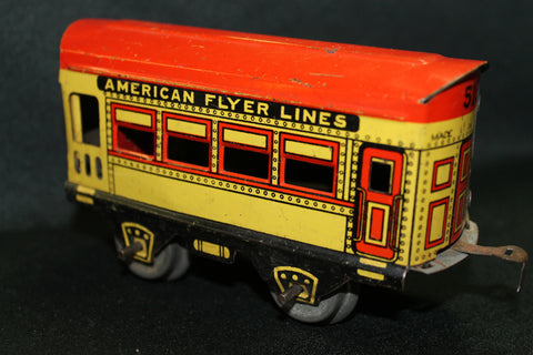 "American ""O"" Gauge Flyer Coach"