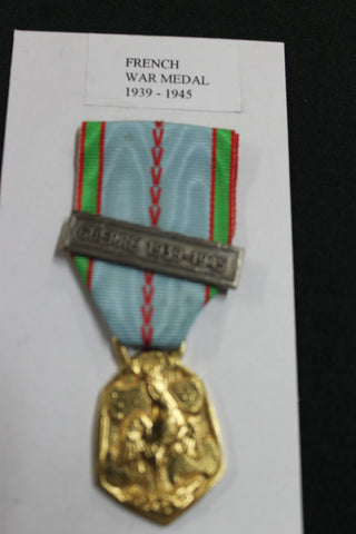 1939-1945 French War Medal