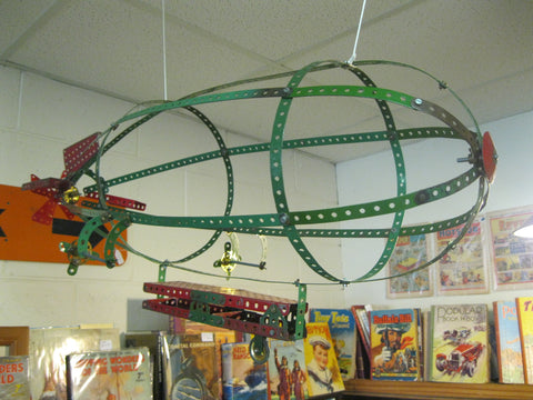 Large Meccano Zepplin
