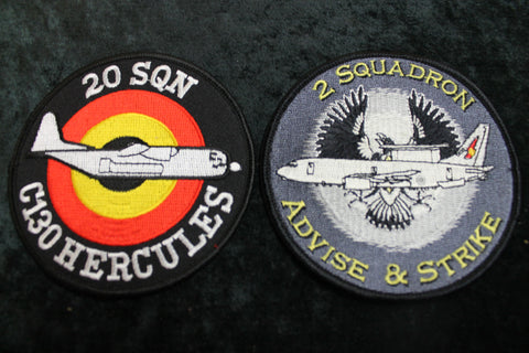20 Squadron Hercules Patches