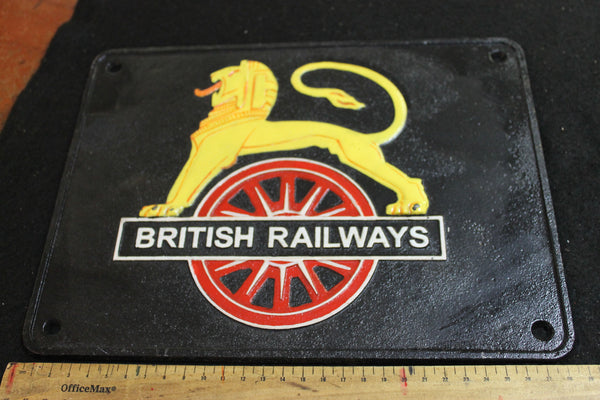 Cast Iron - British Railways Sign